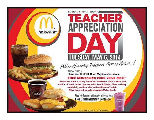 teacher appreciation week deals in az