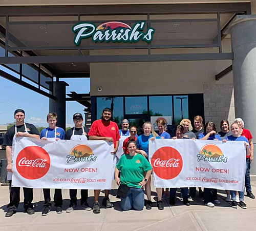 Now open: Parrish's in southeast Mesa