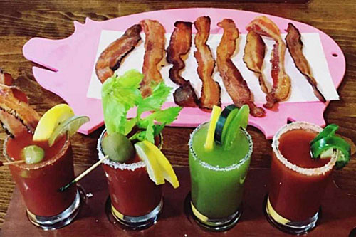 Oink Cafe, home of bacon flights, closes after 3 years in south Tempe - MOUTH BY SOUTHWEST