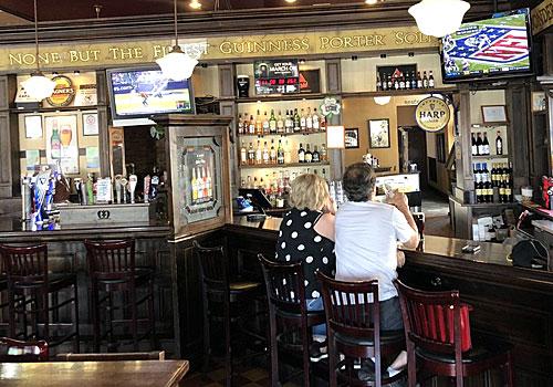The Harp Irish Pub locked out by landlord at Dana Park in Mesa